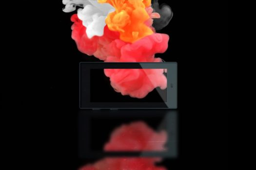 etichette elettroniche a quattro colori